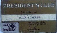 Sandler President's Club