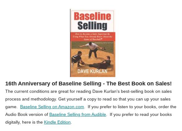 Baseline Selling